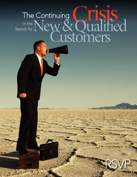 The continuing crisis in the search for new and qualified customer